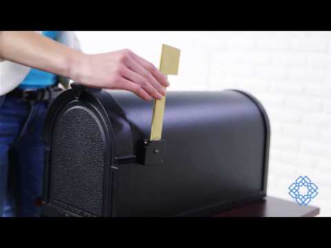 Video for Berkshire White Curbside Mailbox
