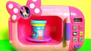 Watch Minnie's Magical Microwave Oven Cooking Toy Surprise from Disney Minnie BowTique Bow Toons transforming Lightning ...