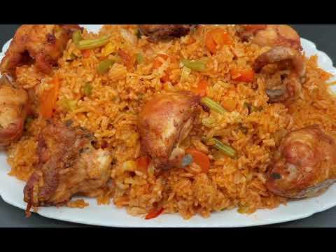 Recette de Riz gras au poulet inratable.