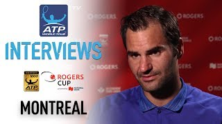 Roger Federer discusses his quarter-final win in Montreal as he remains on course to lift his 27th ATP World Tour Masters 1000...