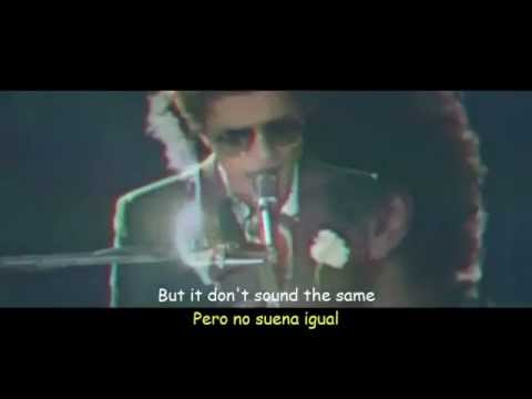 Bruno Mars - When I Was Your Man Subtitulos Español - Ingles (видео)