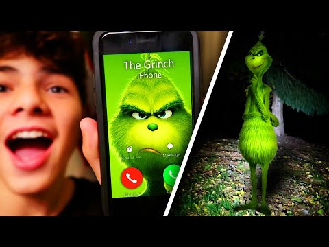I CALLED THE GRINCH AND HE ANSWERED!! (GONE WRONG HE CAME TO MY HOUSE)