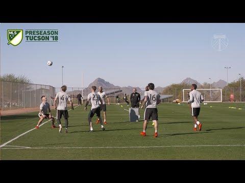 Video: Timbers in Tucson   Players keep it loose in Arizona