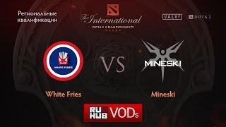WFG vs Mineski, game 1