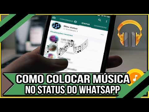 Status de música - Como Colocar Música no Status do Whatsapp - Fácil e Rápido