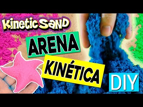 ARENA KINÉTICA Casera * DIY Kinetic MOVING Sand