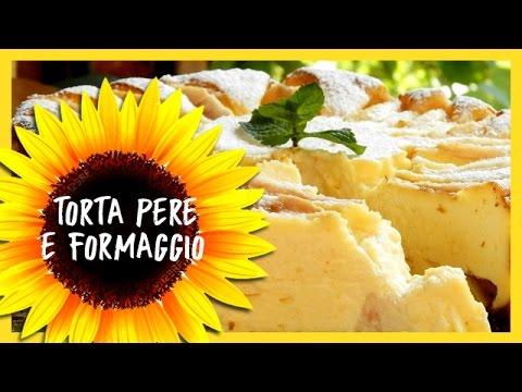 torta di pere e formaggio - ricetta