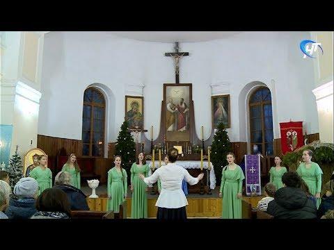 В католическом костеле Петра и Павла прошел благотворительный концерт детского хора из Москвы
