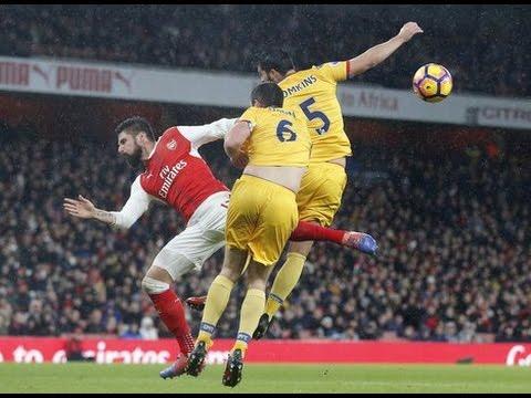 Olivier Giroud Scorpion Kick Goal vs Crystal Palace (Giroud Goal vs Palace 16/17)