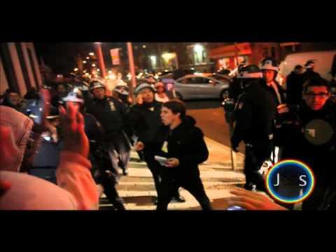 *DON'T SHOOT!* PROTEST FOR SLAIN 16 YEAR KIMANI GREY IN FLATBUSH BROOKLYN, N.Y.