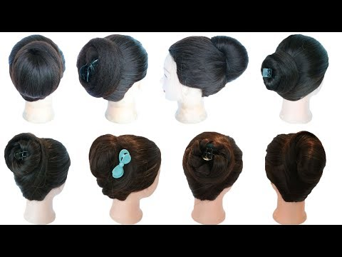 Curly hairstyles - 8 easy & quick cute juda hairstyles with using clutcher  cute hairstyles  hair style girl