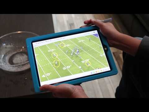 First Look: Microsoft NFL Surface 3 Tablet