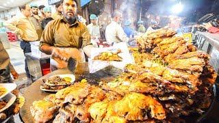 Video Street Food in Pakistan - HARDCORE Chicken, GOAT Foot PAYA + Pakistani Street Food TOUR of Lahore!!! MP3, 3GP, MP4, WEBM, AVI, FLV April 2019