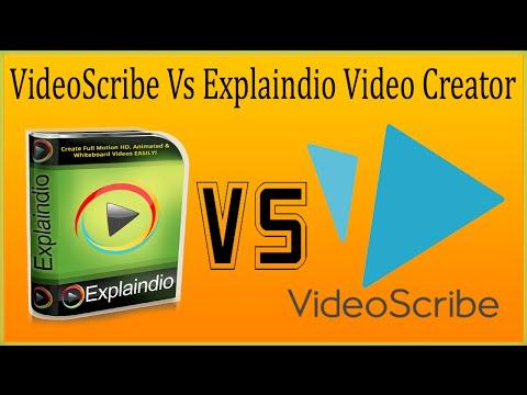 VideoScribe Vs Explaindio Video Creator Review  - VideoScribe Alternative Cheaper Yet Powerful