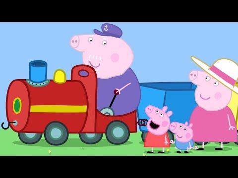 Peppa Pig português - Peppa Pig em Português  O Trenzinho do Vovô  Compilação de episódios  Desenhos Animados #PPBP2018