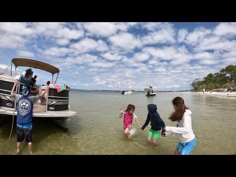 A Boat Trip To Crab Island, Destin,Florida~Horseback Riding (Vlog April 18-19, 2018)