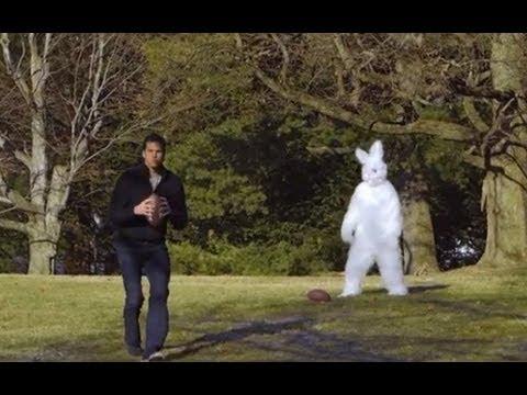 Brady vs. Easter Bunny?
