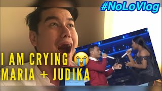 Video CRYING TO JUDIKA + MARIA's NEVER ENOUGH | INDONESIAN IDOL 2018 | Live Reaksi | NoLo Vlog MP3, 3GP, MP4, WEBM, AVI, FLV Maret 2018