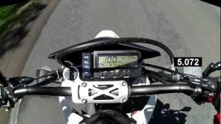 9. DRZ400 0-100 (60mph) acceleration