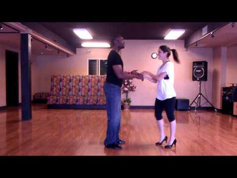 Сальса: веселая тренировка. Уроки видео.