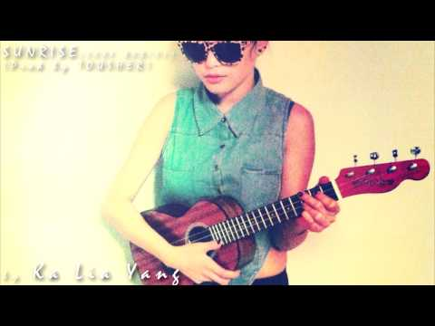 sunset - Ukelele by Ka Lia Yang Beat produced by Tousher Guitar chords: 7nth fret - G, E, Am, D Ukulele chords: 5th fret - A Gbm Bm7 Dbm7 Ka Lia Yang: http://www.face...