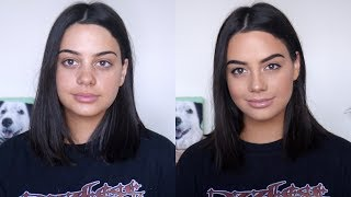 Video GRWM: MY LONG LASTING EVERYDAY MAKEUP! (+ how to be a catfish lol) MP3, 3GP, MP4, WEBM, AVI, FLV Maret 2019