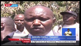 Family In Nakuru Killed In Fire Tragedy