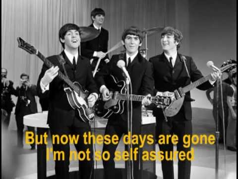 The Beatles - Help - With Lyrics