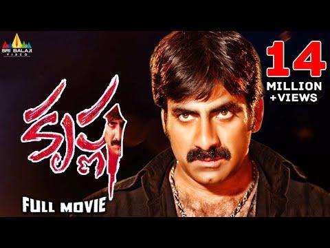 Krishna   Telugu Latest Full Movies   Ravi Teja, Trisha, Brahmanandam   Sri Balaji Video