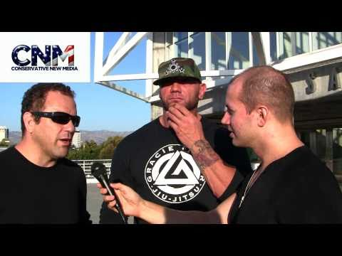 Dave Batista  Cesar Gracie Interview  Talks John Cena Fighting Bobby Lashley MMA over 500lb Ben