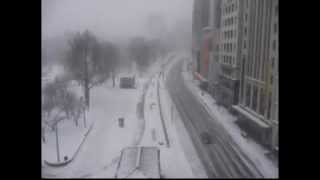 Snowstorm Time-lapse! (8 Hours In A Boston Blizzard)