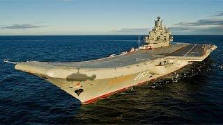 Rusia enviará el portaviones Almirante Kuznetsov al Mediterráneo