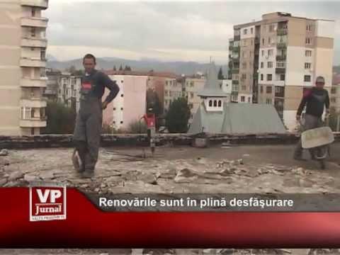 Renovările de la Casa Tineretului sunt în plină desfăşurare
