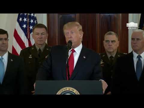 Тръмп: Няма убити след иранските атаки, налагаме нови санкции. Иран отстъпва