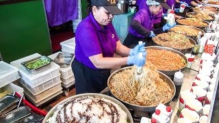 Video Thai Street Food. Most Massive Dose of Thai Noodles Ever Seen MP3, 3GP, MP4, WEBM, AVI, FLV April 2019