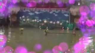 Múa Rối Nước Nhân Ngày Thơ Quảng Ninh Tại Làng Văn Hóa Việt, Xã Yên Đức, Huyện Đông Triều Quảng Ninh