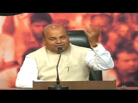 Press Conference by Shri Thawar Chand Gehlot: 6.12.2015