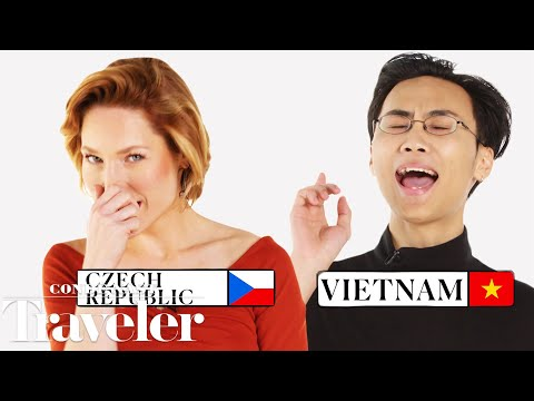 70 People Reveal How To Sneeze And Say 'Bless You' In 70 Countries | Condé Nast Traveler