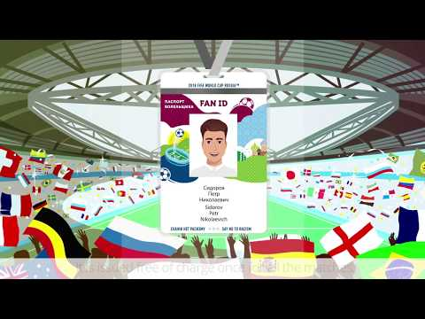 How To Get A Fan ID For The FIFA World Cup 2018 In Russia?