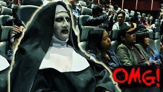 "Video VALAK invades the cinemas! ""The Nun' advance screening in Manila, Philippines MP3, 3GP, MP4, WEBM, AVI, FLV Oktober 2018"