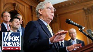 Sen. Mitch McConnell slams Dem impeachment on Senate floor