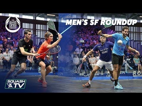 Squash: Men's Semi Final Roundup - Allam British Open 2019