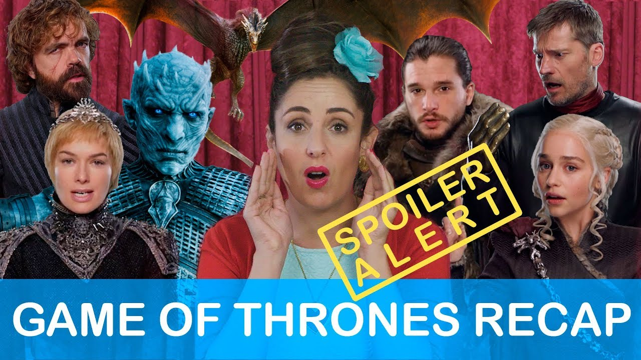 Game of Thrones RECAP!!