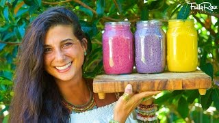 3 DELICIOUS SMOOTHIE RAW VEGAN RECIPES & My Biggest Piece of Advice! You can enjoy these smoothies for breakfast, lunch, or dinner. They are easy and SOOO good! Enjoy my friends! You can find the Sunwarrior Protein Powder at http://www.sunwarrior.com.Get a signed copy of my book (personalized for you!!) here: http://www.fullyraw.com/signed-book-sale/Subscribe to My YouTube Channel here at http://www.instagram.com/fullyrawkristina and follow my Instagram at http://www.instagram.com/fullyrawkristina. Snapchat: fullyraw. Thank you for all your love and support! I appreciate you all so much! Delicious Raw Food & Vegan Recipes on my Website: http://www.fullyraw.comGet your raw vegan protein powder at http://www.sunwarrior.comThrive Market Online at http://www.thrivemarket.comFlacker crackers at: http://www.drinthekitchen.comOnline store at Rawfully Organic: http://www.rawfullyorganic.com/shopWant to keep up with me daily?❤ Co-op: http://www.rawfullyorganic.com❤ FullyRaw: http://www.fullyraw.com❤ FullyRaw You Tube: http://www.youtube.com/fullyrawkristina❤ FullyRaw Kristina Facebook Page: http://www.facebook.com/fullyrawkristina❤ Kristina's Bio: http://fullyraw.com/about/about-me❤ Kristina's Blog: http://www.rawfullyorganic.com/blog❤ ROC Facebook: http://www.facebook.com/rawfullyorganic❤ Rawfully Organic Twitter: http://www.twitter.com/rawfullyorganic❤ FullyRaw Twitter: http://www.twitter.com/fullyraw