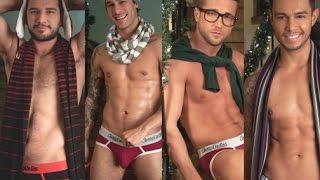 Pleins de talents, ces hommes vous souhaitent un Joyeux Noël avec cette vidéo sexy.