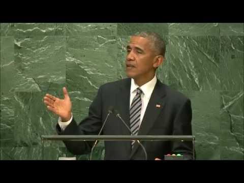 выступление Барака Обамы на Генассамблее ООН 20.09.2016 (рус) (видео)