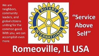 Romeoville (IL) United States  city photo : Romeoville Rotary - 7 Magic Words - Romeoville, IL USA