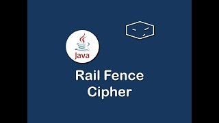 Code in java of Rail Fence cipher.Please Like and Share :)Download source code at:https://drive.google.com/file/d/0B61-MHkMYqM4RHc4bkNJYlIxTTg/Play ListsSwifthttps://www.youtube.com/playlist?list=PLOGAj7tCqHx9C08vyhSMciLtkMSPiirYrAllhttps://www.youtube.com/channel/UCBGENnRMZ3chHn_9gkcrFuA/playlistsJavaScripthttps://www.youtube.com/playlist?list=PLOGAj7tCqHx_grLMl0A0yC8Ts_ErJMJftc#https://www.youtube.com/playlist?list=PLOGAj7tCqHx9H5dGNA4TGkmjKGOfiR4gkJavahttps://www.youtube.com/playlist?list=PLOGAj7tCqHx-ey9xikbXOfGdbvcOielRwAmazon Lumberyard Game Enginehttps://www.youtube.com/playlist?list=PLOGAj7tCqHx-IZssU8ItkRAXstlyIWZxq