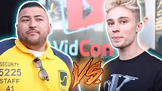 """Recently a """"famous instagram model"""" Christian Burns was captured acting very disrespectful towards a Vidcon security guard because he wasn't let into the event. Let's roast this boy and teach him some manners. Smash like, comment, subscribe, thx xoxoInstagram ► https://www.instagram.com/roman_nfkrz/---------------------------------Twitch ► http://www.twitch.tv/nfkrzFacebook ► https://www.facebook.com/NFKRZ1Instagram ► https://instagram.com/roman_nfkrz/Steam Group ► http://steamcommunity.com/groups/nfkrzgroup---------------------------------Music:---------------------------------Outro music ► MajorLeagueWobs/Holder - D I S T A N T"""