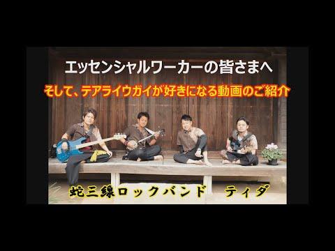 神奈川「バーチャル開放区」蛇三線ロックバンド ティダ『テアライウガイ』の画像